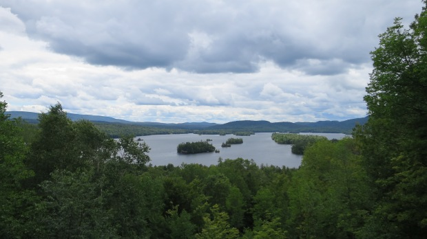 Blue Mountain Lake from Adirondack Museum, Blue Mountain Lake, New York