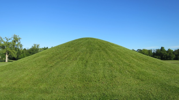 Mound 7, Mound City, Hopewell Culture National Historical Park, Ohio