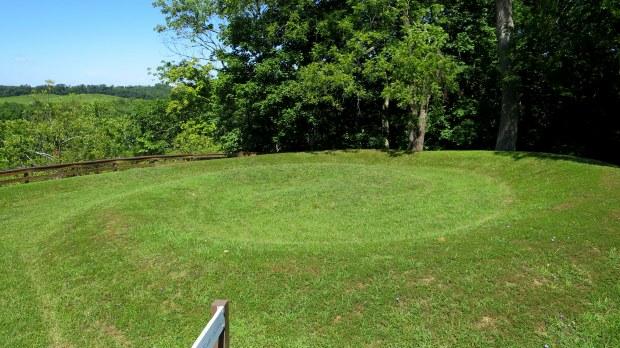 Head of serpent, Serpent Mound, Ohio