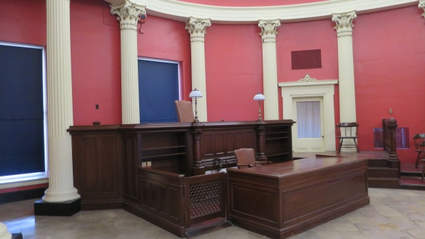 East Courtroom where the Scotts were freed, The Old Courthouse, Jefferson National Expansion Memorial, St. Louis, Missouri