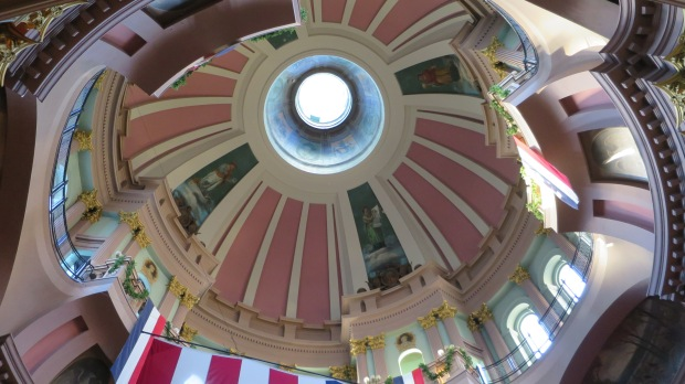 Another shot of the cupola from 3rd floor, The Old Courthouse, Jefferson National Expansion Memorial, St. Louis, Missouri