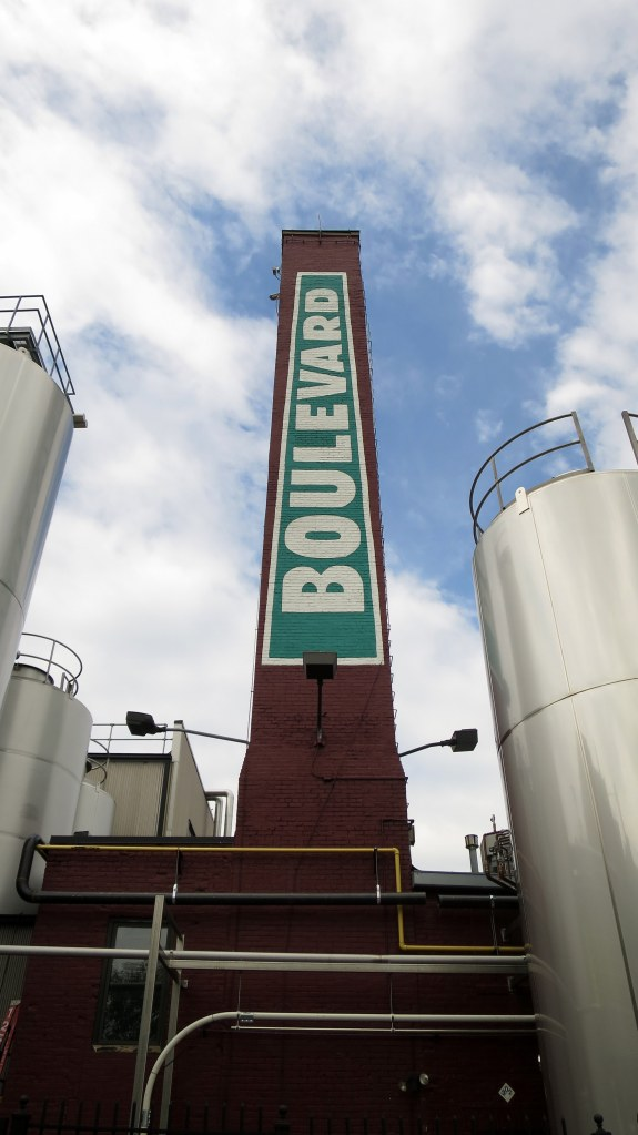 The smokestack, Boulevard Brewery, Kansas City, Missouri