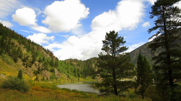 Gore Range Trailhead, White River National Forest, Colorado