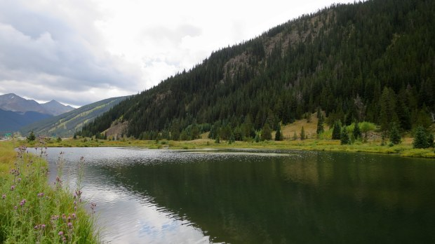 Scenic overlook, I-70, Colorado