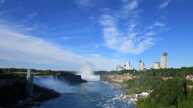 Niagara Falls from International Rainbow Bridge