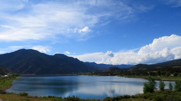 Rifle Gap Reservoir, Colorado