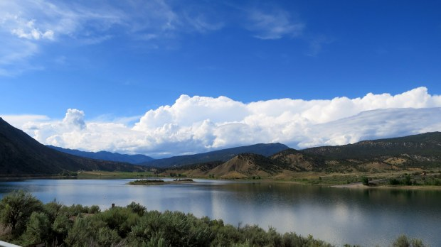 Rifle Gap Reservoir, Colorado