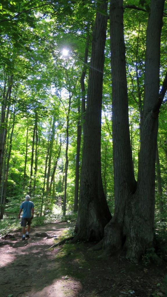 Tom on Bluff Trail, Chimney Bluffs State Park, New York
