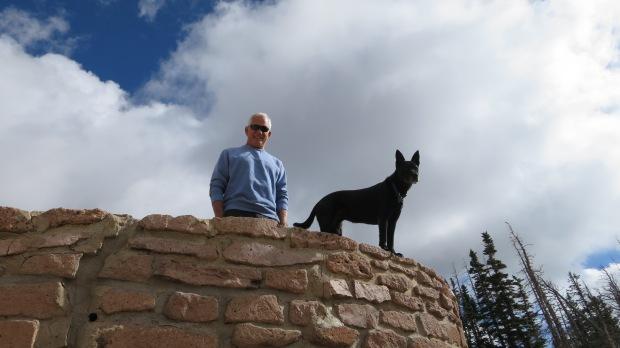 Tom and Abby, North View Overlook, Cedar Breaks National Monument, Utah