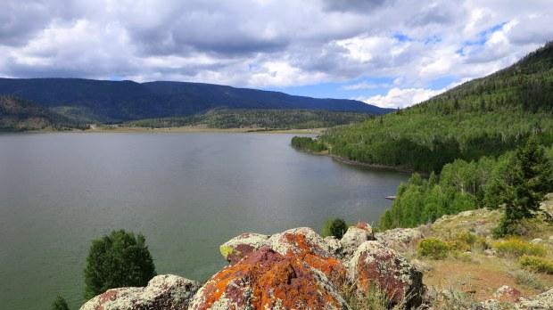 Point Reflection, Fishlake National Forest, Utah