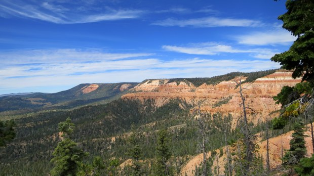 Virgin River Rim Trail, Dixie National Forest, Utah
