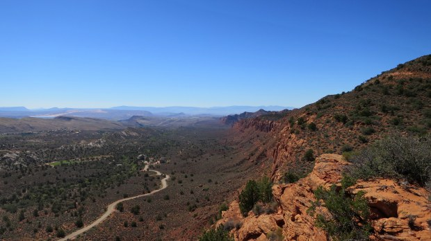 Overlooking Silver Reef and the Red Cliffs, Dixie National Forest, Utah