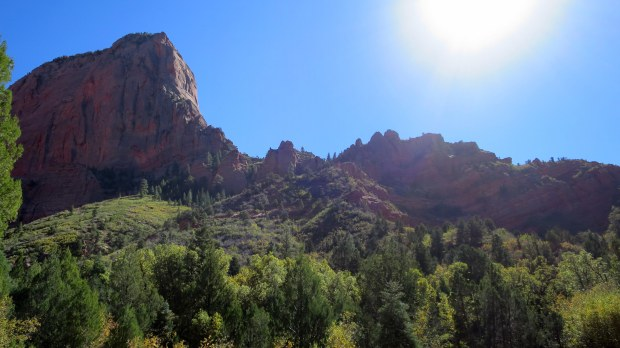 Taylor Creek Trail, Kolob Canyon, Zion National Park, Utah