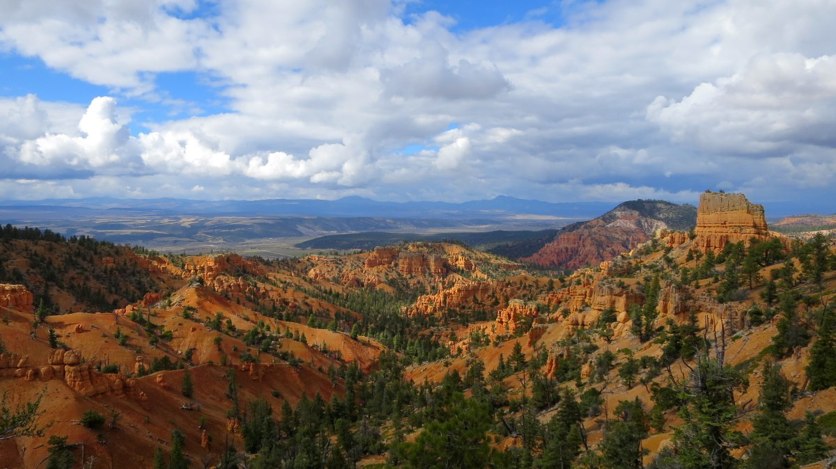 Red Canyon: Golden Wall and Castle Bridge Trails