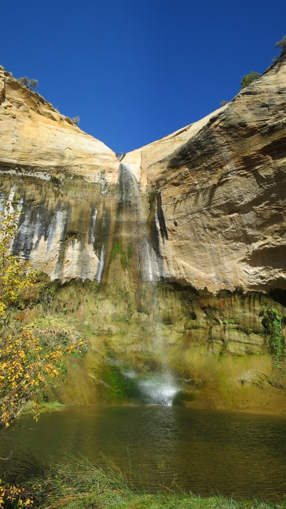 Upper Calf Creek Falls, Grand Staircase-Escalante National Monument, Utah