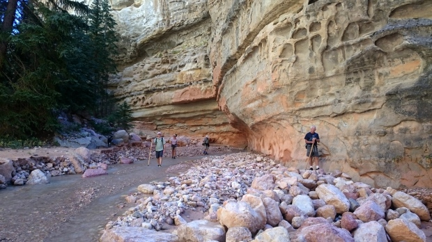 Nancy's picture of all of us, Ashdown Gorge Wilderness, Dixie National Forest, Utah