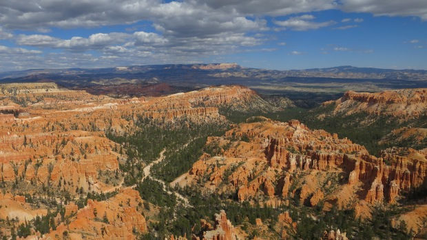 Inspiration Point, Rim Trail, Bryce Canyon National Park, Utah