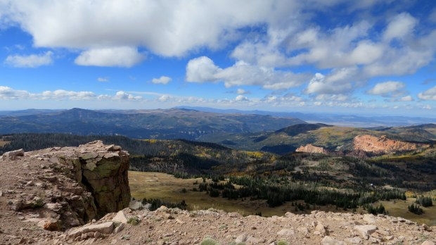View from Brian Head Peak, Dixie National Forest, Utah