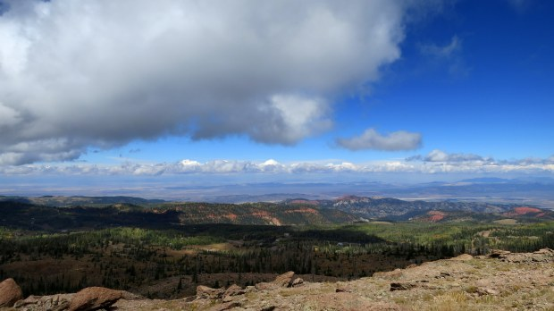 Looking over Dark Hollow, Dixie National Forest, Utah