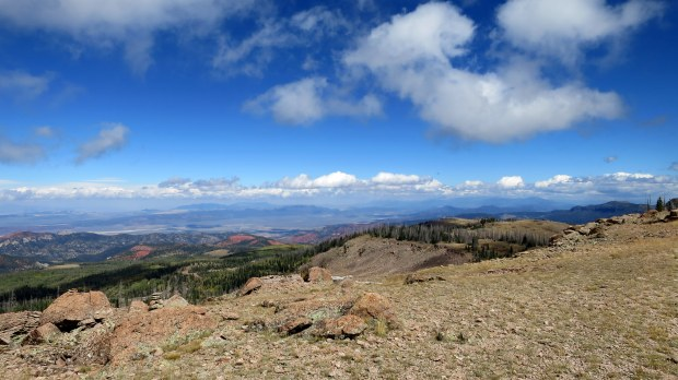 Another look over Dark Hollow, Marathon Trail, Dixie National Forest, Utah