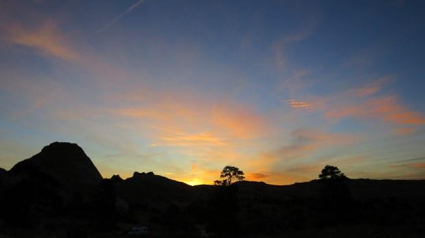 Sunrise near camp, Burr Trail, Grand Staircase-Escalante National Monument, Utah