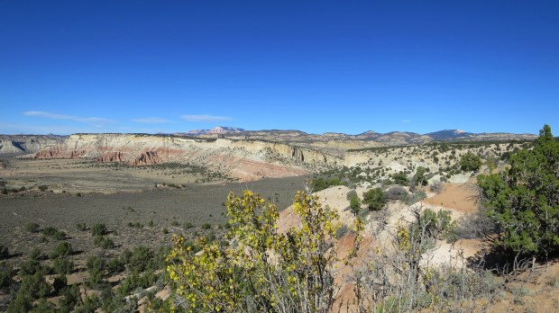 High desert in Grand Staircase-Escalante National Monument, Utah