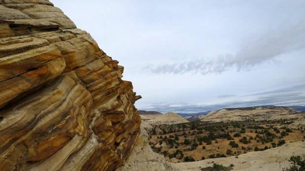 Sandstone, Burr Trail, Grand Staircase-Escalante National Monument, Utah