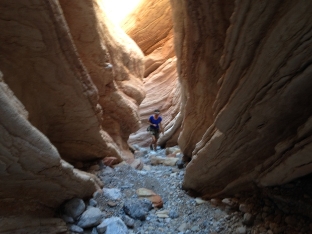 Me in Anniversary Narrows, Muddy Mountains Wilderness, Nevada