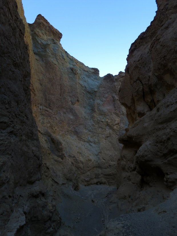 This section of the canyon just felt creepy, Desolation Canyon, Death Valley National Park, California