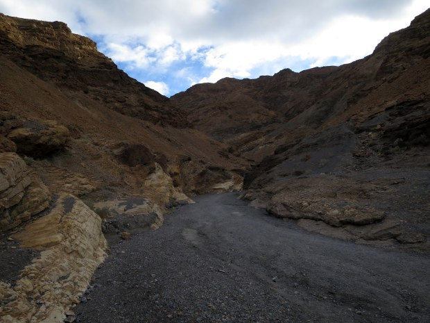Beginning to see the marble, Mosaic Canyon, Death Valley National Park, California