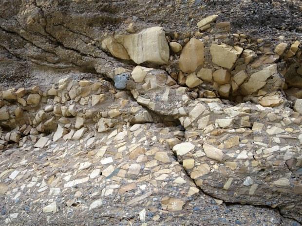 Mosaic in Mosaic Canyon, Death Valley National Park, California