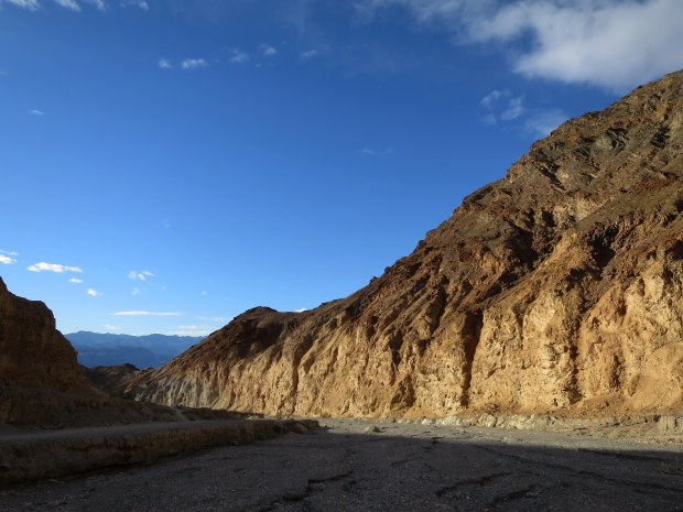 The shadows add amazing tones and dimensions to the palette of Death Valley. Mosaic Canyon, Death Valley National Park, California