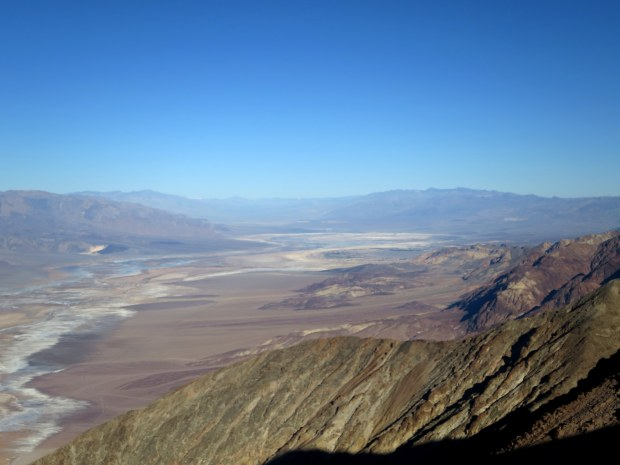 Badlands seen from Dante's View, Death Valley National Park, California