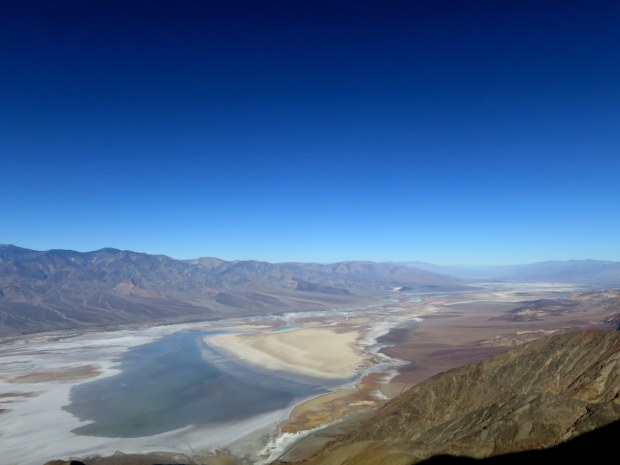 View from the top, Dante's View, Death Valley National Park, California