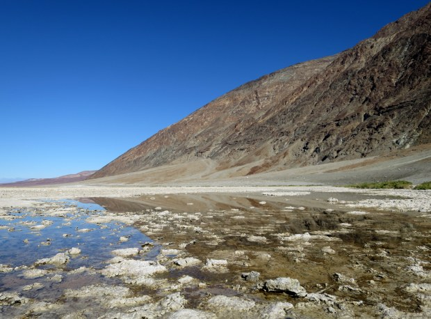 Badwater Pool, Death Valley National Park, California
