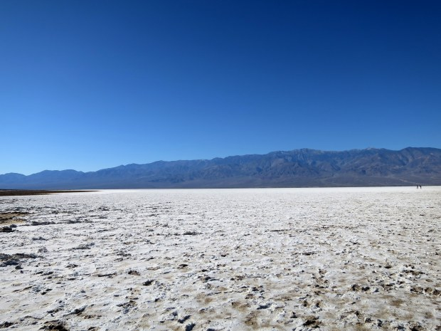Salt flats, Badwater Basin, Death Valley National Park, California