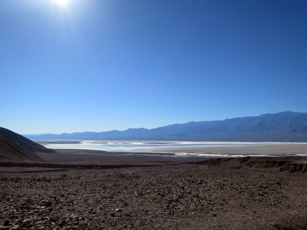 Salt flats of Death Valley National Park, California