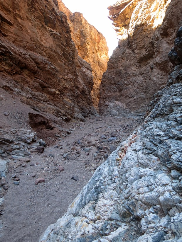 Natural Bridge Canyon, Death Valley National Park, California