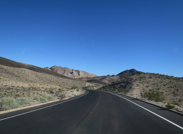 Driving the Northshore Road, Lake Mead National Recreation Area, Nevada