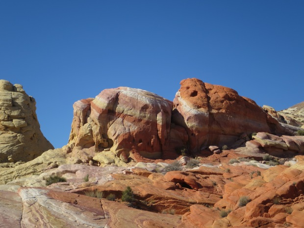 Stripes and colors in Valley of Fire State Park, Nevada