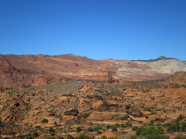 Near Cougar Cliffs, Red Cliffs Desert Preserve, Utah