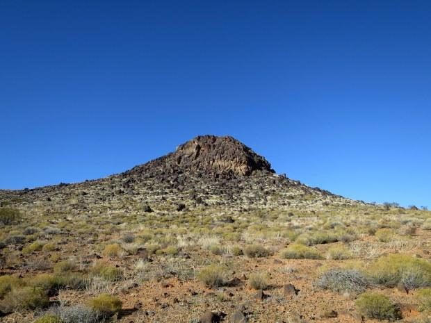 Volcanic rock, Yellow Knolls Trail, Red Cliffs Desert Reserve, Utah