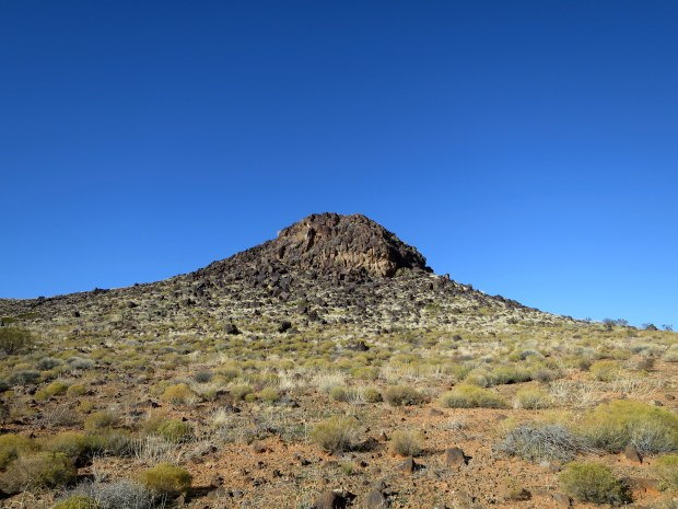Volcanic rock, Yellow Knolls Trail, Red Cliffs Desert Reserve, Utah