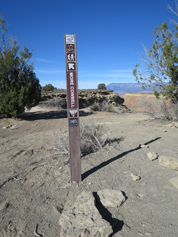 More Cowbell Trail: Hands down the best trail name ever. Hurricane Cliffs, Utah