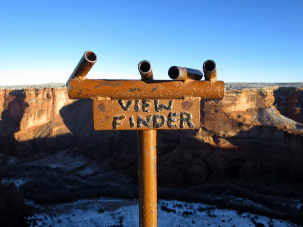 Spider Rock Overlook, Canyon de Chelly National Monument, Arizona