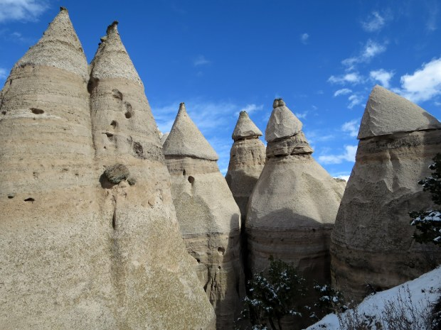 Up close with some tent rocks, Canyon Trail, Kasha-Katuwe Tent Rocks National Monument, New Mexico