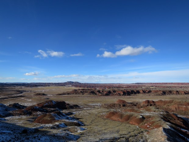 Painted Desert Rim Trail, Petrified Forest National Park, Arizona
