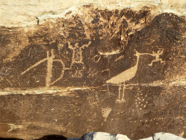 Petroglyphs near Rio Puerco, Petrified Forest National Park, Arizona