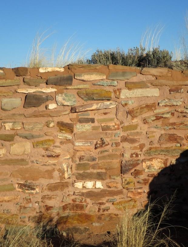 Sealed doorway, West Plaza of Homol'ovi II, Homol'ovi State Park, Arizona
