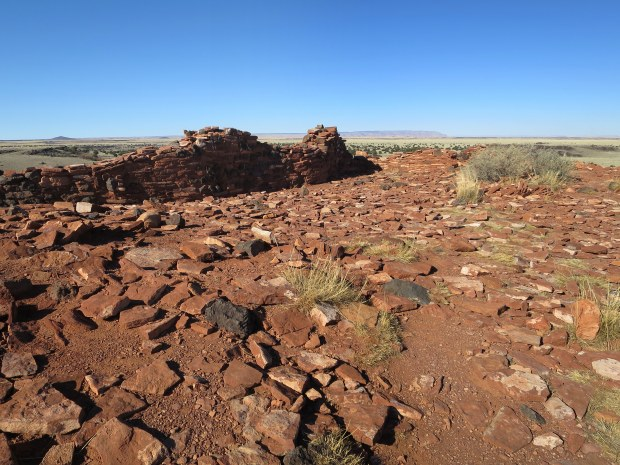Unexcavated interior of The Citadel, Wupatki National Monument, Arizona